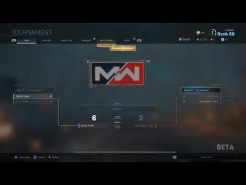 Call of Duty®: Modern Warfare®: Winning the 2v2 gunfight tournament