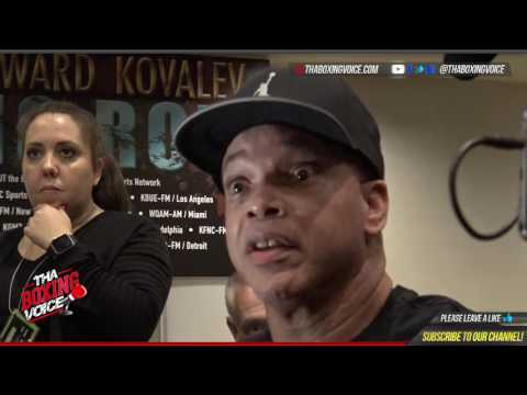 VIRGIL HUNTER: ANDRE WARD is HEALTHY, I trained him for a KNOCKOUT in this REMATCH with KOVALEV