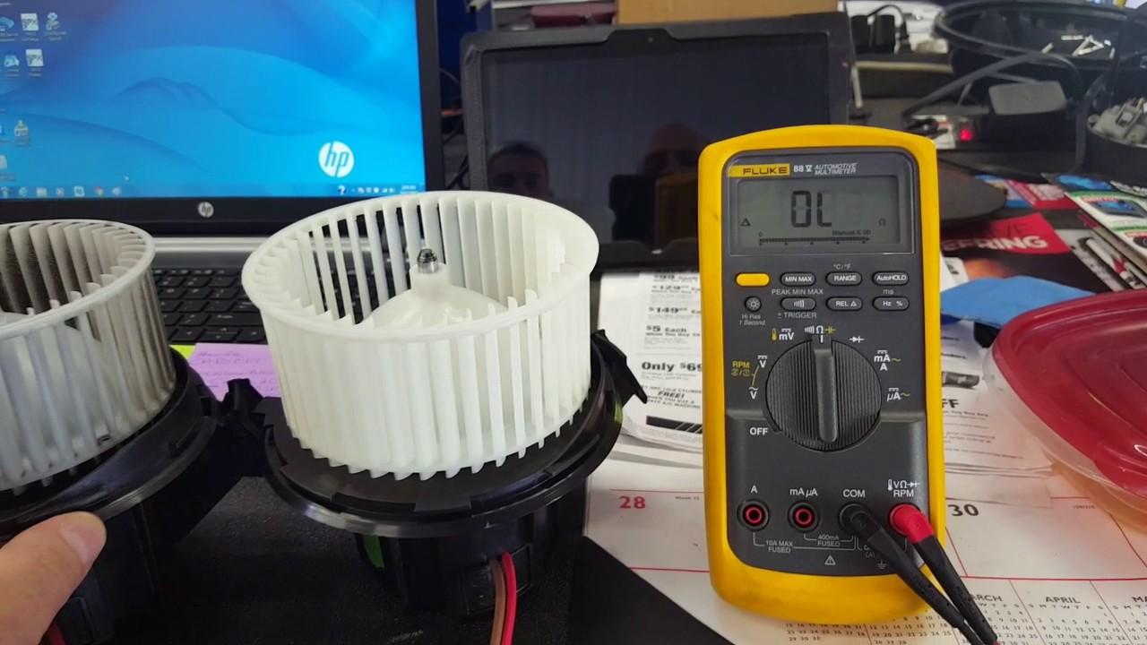 2012 MB C300 Blower Fan Problem