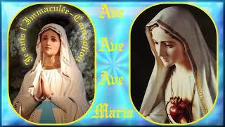 AM707.Lourdes, Vierge Sainte, Fatima, Pontmain&Chez nous soyez Reine: Musical pour le Chapelet (122)