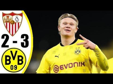 Sevilla Vs Borussia Dortmund  2-3 UEFA Champions League  ● 17/02/2021 HD