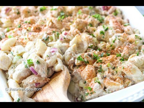 Tuna Macaroni Salad – Easy Pasta Salad Recipe – I Heart Recipes