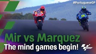Champion V Champion Marquez Stalks Mir 2021 Portuguesegp