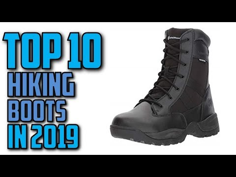 19683c9e365 10 Best Hiking Boots In 2019 - YouTube