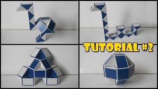 Rubik's Twist 24 Tutorial #2 - Ostrich 1 - Flower - Ball - Loch Ness Monster