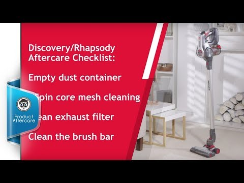 How to Maintain Your Hoover Discovery/Rhapsody Vacuum