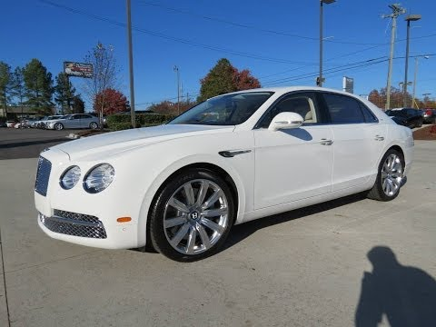 2014 Bentley Flying Spur Start Up, Exhaust, and In Depth Review