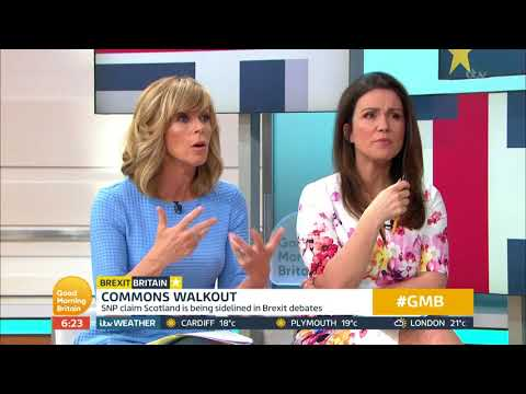 SNP Commons Walkout | Good Morning Britain
