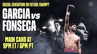 Ryan Garcia vs. Francisco Fonseca Undercard Livestream
