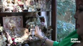 Coleccionistas: muñecas de porcelana