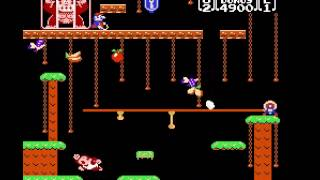 Donkey Kong Jr -  with PC controller - User video