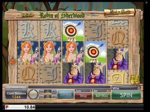 Обзор игрового автомата Robin of Sherwood (Genii)