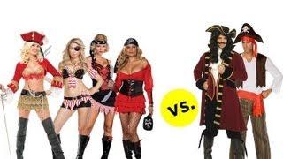 Halloween Costumes: Women Vs Men