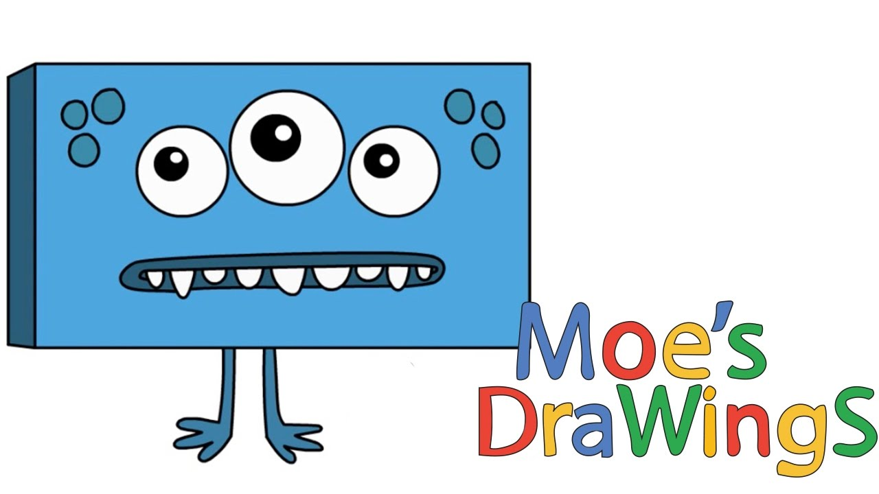 Big Block Sing Song Alien How to draw and coloring fun new Hd video ...