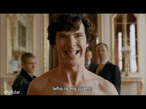 Sherlock Sheet Scene Vs Outtake S201