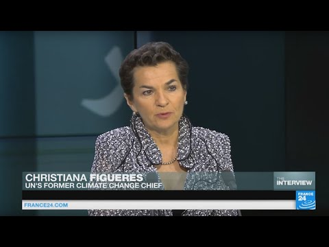 In the running: Christiana Figueres enters race to be next UN chief