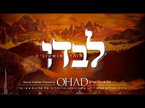 לבדו I אוהד מושקוביץ(Levado I Ohad Moskowitz I (Official lyrics Video