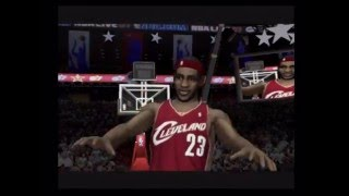 NBA Live 07 Slam Dunk Contest Gameplay (PS2)