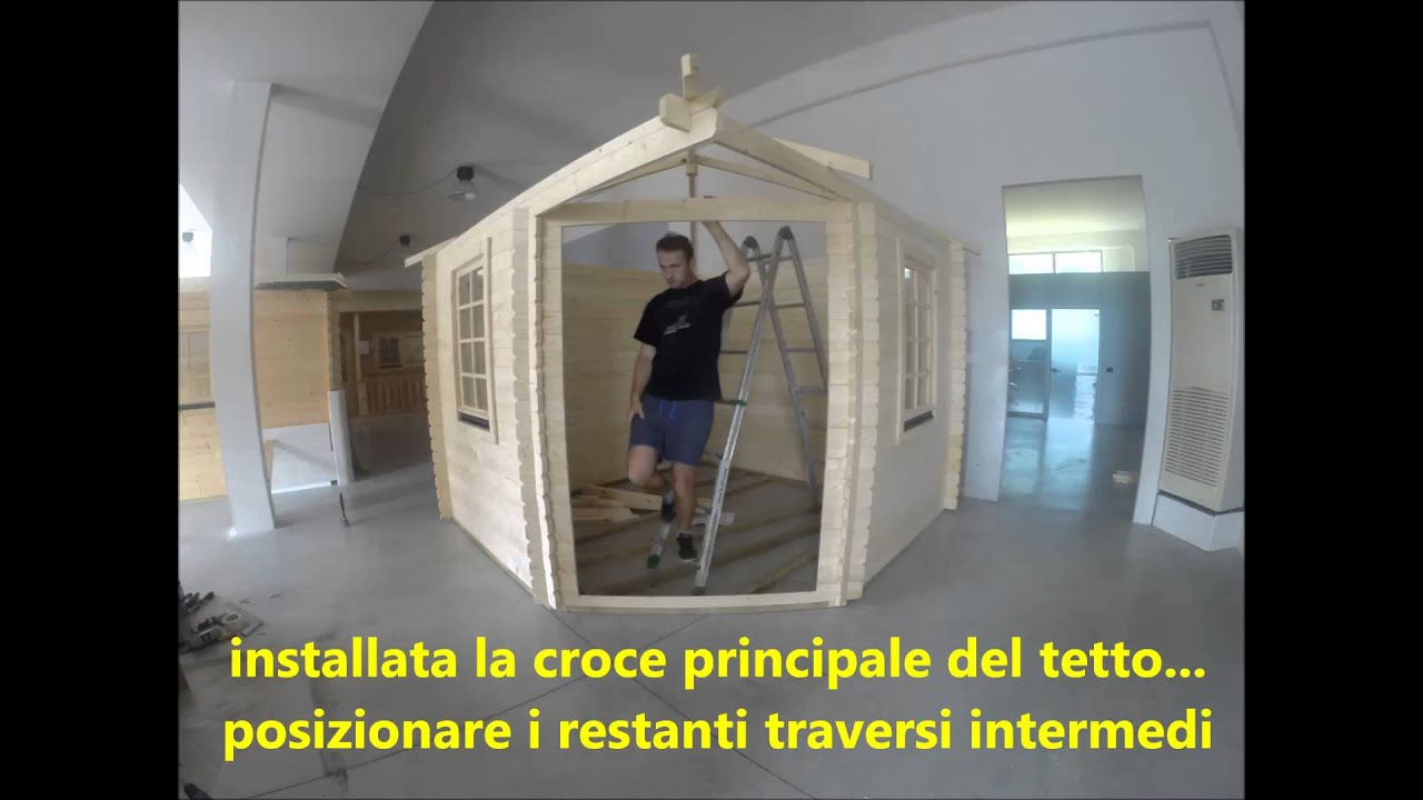 video casetta legno 3x3 venezia casacasette it youtube