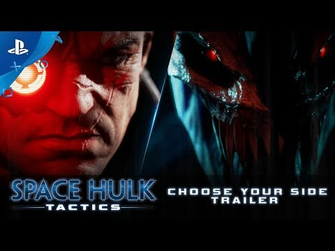 Space Hulk: Tactics - Gamescom 2018: Choose Your Side Trailer | PS4