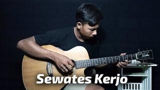 Download Mp3 Sewates Kerjo - Happy Asmara | Fingerstyle Guitar Cover + Lirik