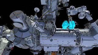 U.S. Spacewalk 48 Animation (Feb. 16, 2018)