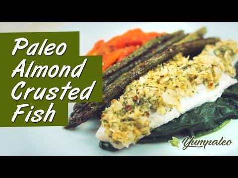 Paleo Almond Crusted Fish