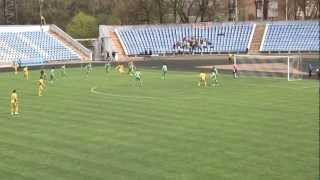 Буковина Чернівці - Нива Вінниця - 1-1 (21.04.12)