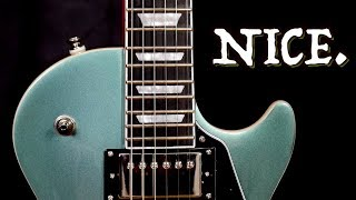 Is It the Best New Epiphone? | 2020 Epiphone Les Paul Modern Faded Pelham Blue | Review + Demo