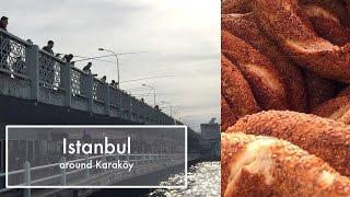 Stambuł vlog- spacer po Karaköy | worqshop |