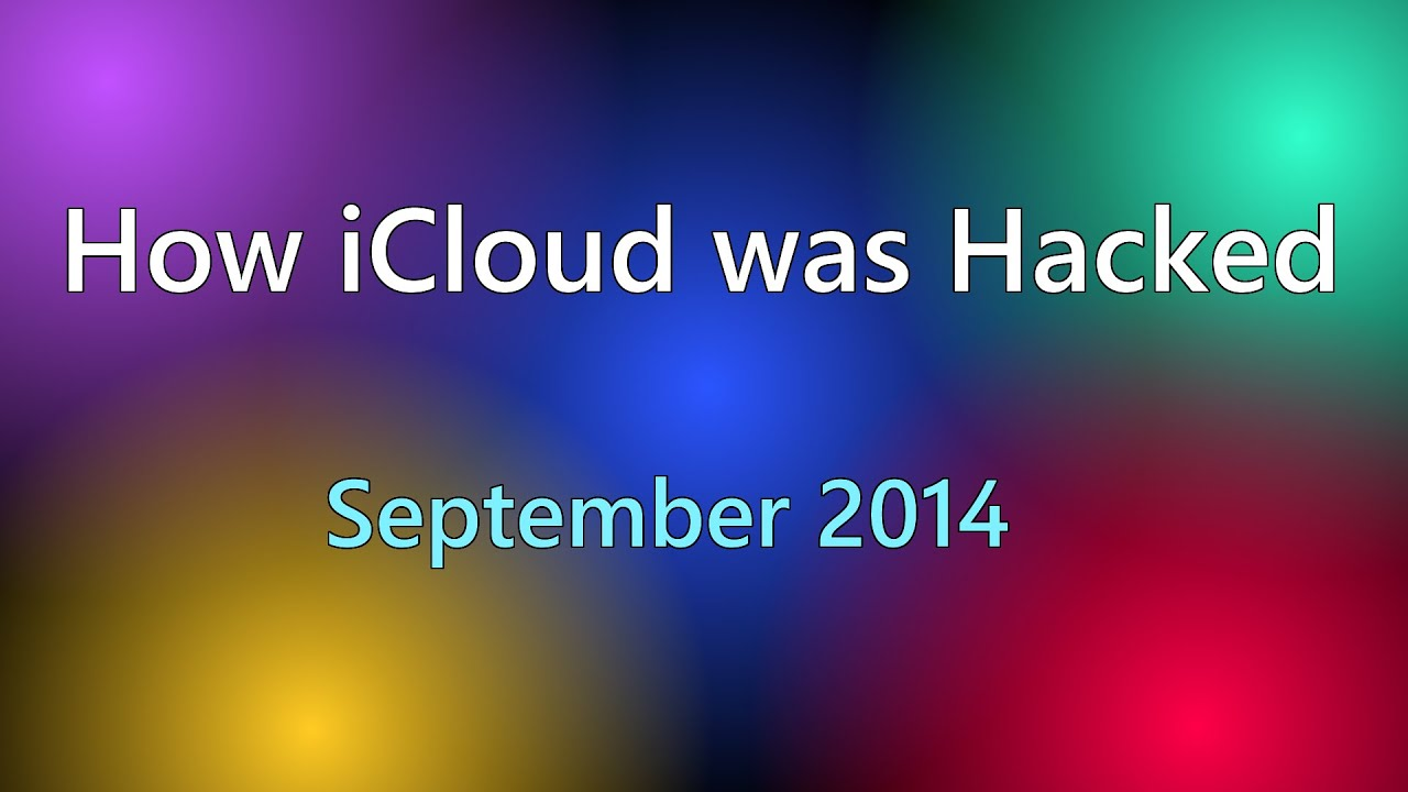 How iCloud was Hacked (September 2014) - YouTube