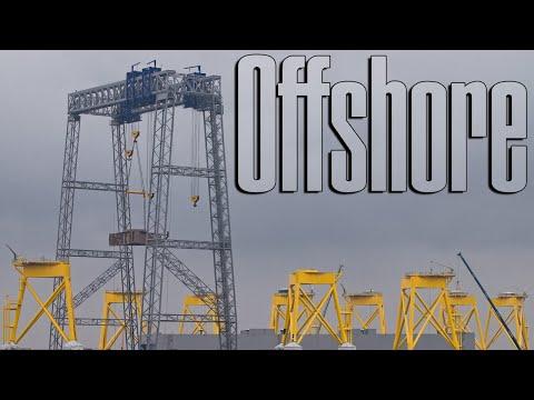 Heavy Lift Crane 1,400 Tons ST³ Offshore Ørsted Jacket Borkum Riffgrund 2 Wind Farm