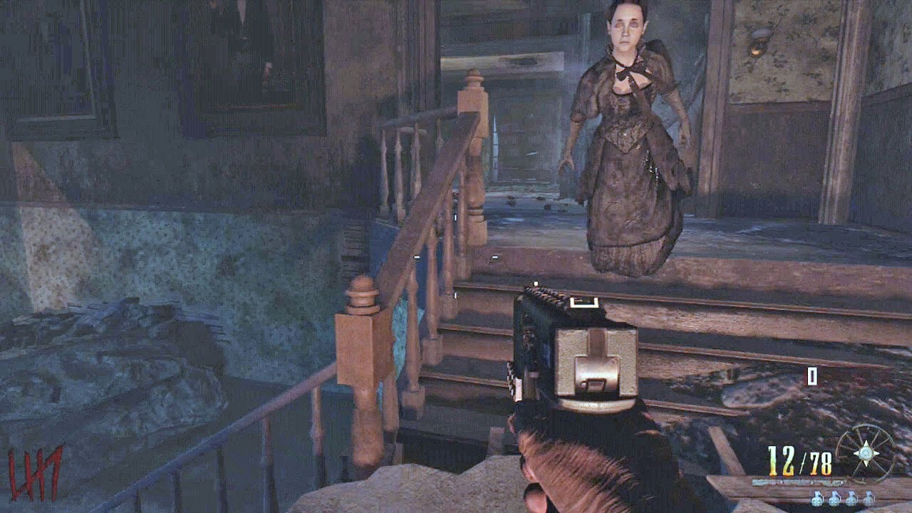 Black Ops 2 Vengeance Buried Map Haunted House Youtube