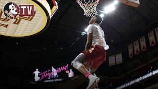 High Flying Noles Wow Fans at Jam with Coach Ham