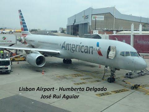 Lisbon Airport Handling Takeoffs Landings TAP Portugal American Easyjet Ryanair EuroAtlântic TAAG