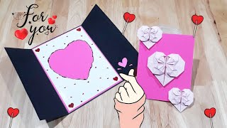LOVE CARD|VALENTINE DAY CARDS|การ์ดวาเลนไทน์|LOVE DIY AND CRAFTS
