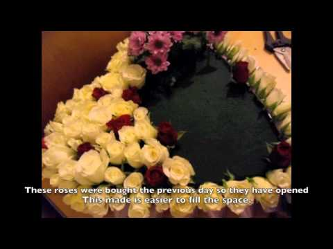 How to make a funeral tribute flower heart floristry guide youtube how to make a funeral tribute flower heart floristry guide solutioingenieria Image collections