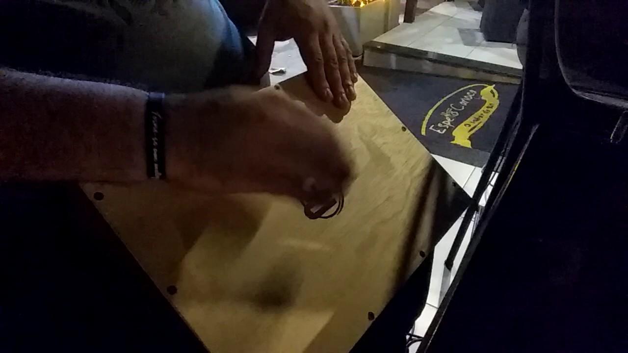 Cajon de Mesa Jaguar Percussion - Elétrico (Malandragem - Cássia Eller) f74ea9ffa8