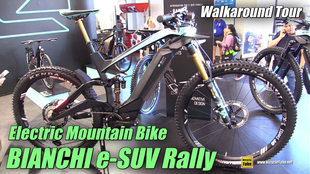 2020 Bianchi e-SUV Rally Electric Mountain Bike ...