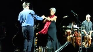 """Cornbread"" - Joan Baez + Dirk Powell and Gabriel Harris - Istanbul Jazz Festival, 2015-07-01"