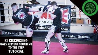 K1 Kickboxing Hard Hitting Counters to the Teep Tutorial