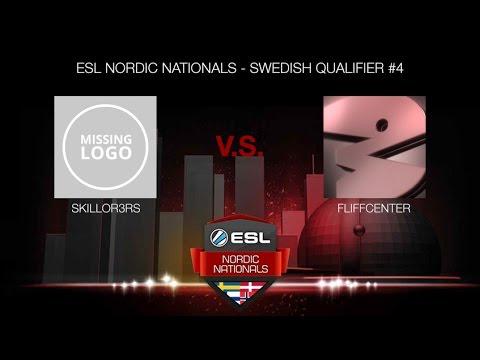 skillor3rs vs. Fliffcenter (ESL NORDIC NATIONALS - SWEDISH QUALIFIER #4)