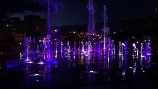 Открытие фонтана на эспланаде Пермь