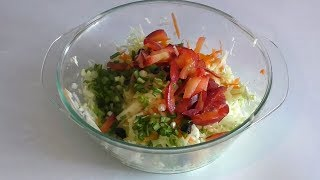 Салат для похудения, ешь сколько хочешь, вес только уменьшится