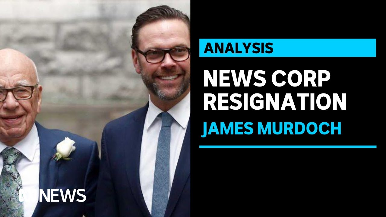 James Murdoch Resigns From News Corp