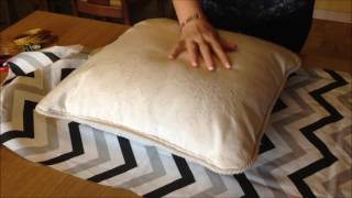 Cojín sin cremallera  - Pillow cover with no zip