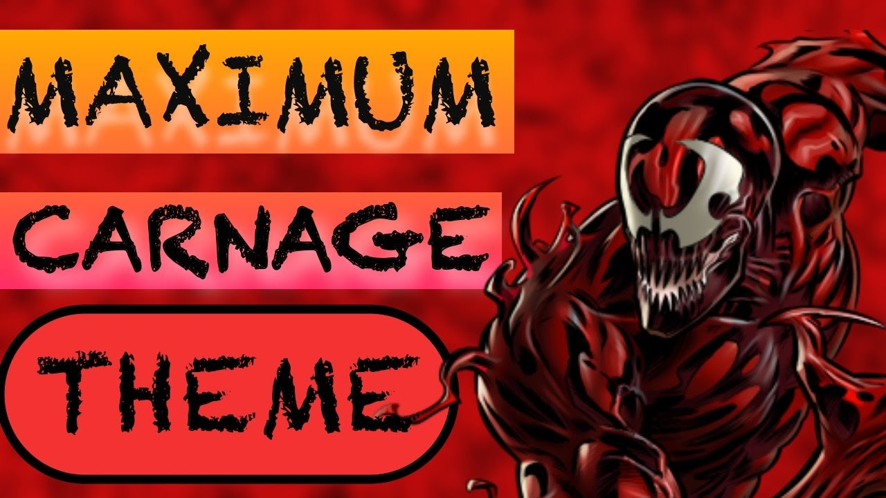 Maximum Carnage Theme Guitar Cover Youtube