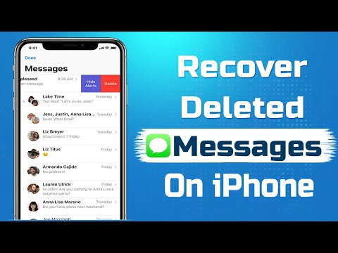 How to Recover Deleted Messages on iPhone (Without Backup) | Recover Deleted Text Messages 2019