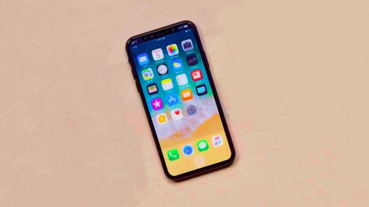 iPhone X to Feature LIVE WALLPAPER?