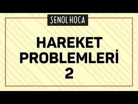 Hareket Problemleri 2 Şenol Hoca Matematik